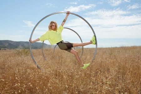 Cara Delevingne stars in PUMA Rise Neon sneaker campaign.
