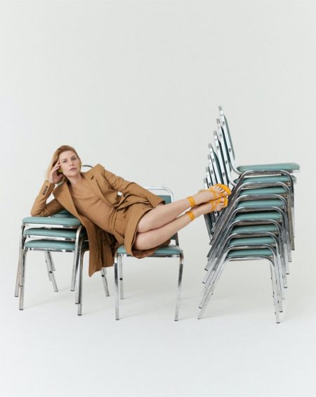 Claire Danes Wears Chic Looks for T Singapore