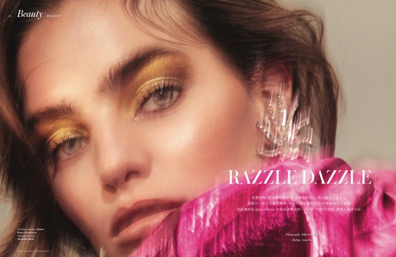 Delfina Morbelli Turns Up the Shine Factor in Vogue Hong Kong