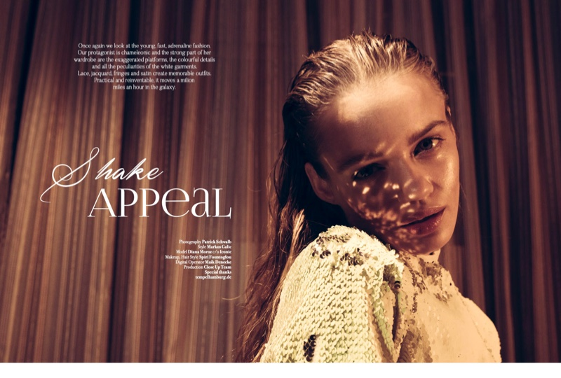 Diana Moroz Graces the Pages of Latest Magazine