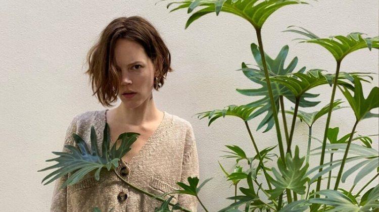 Zara focuses on new season knitwear.