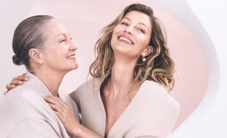 Gisele Bundchen and mother Vania star in Dior Capture Totale campaign.