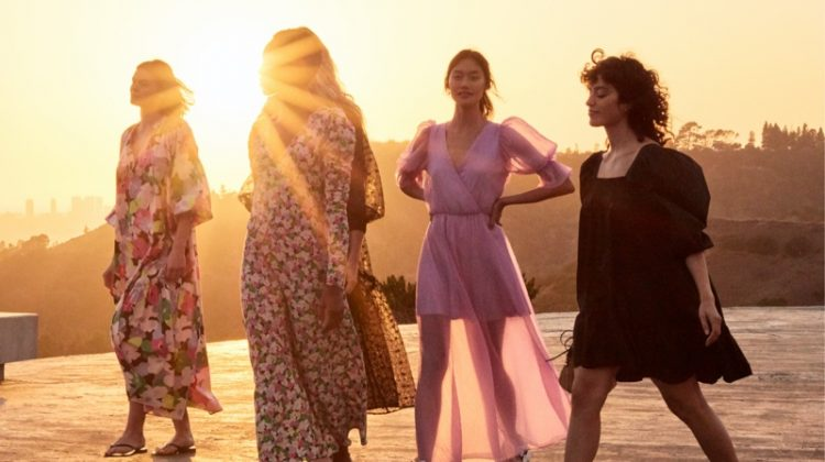 Romantic designs stand out in H&M Conscious summer 2020 collection.