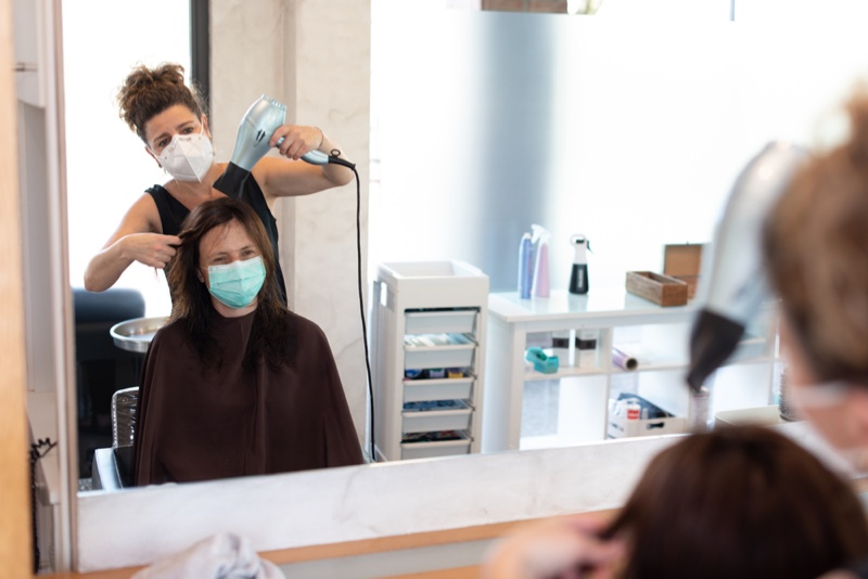 Hair Salon Covid Face Masks