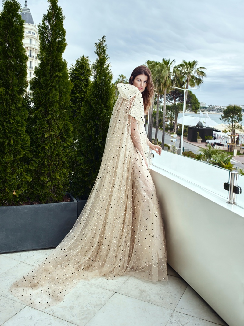 Model Isabeli Fontana wows in Ali Younes Couture campaign.