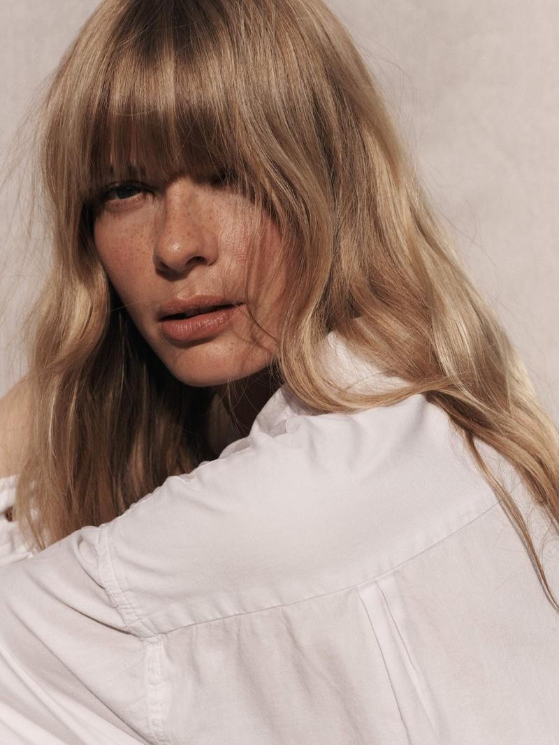 Julia Stegner Models Relaxed Style for PORTER Edit