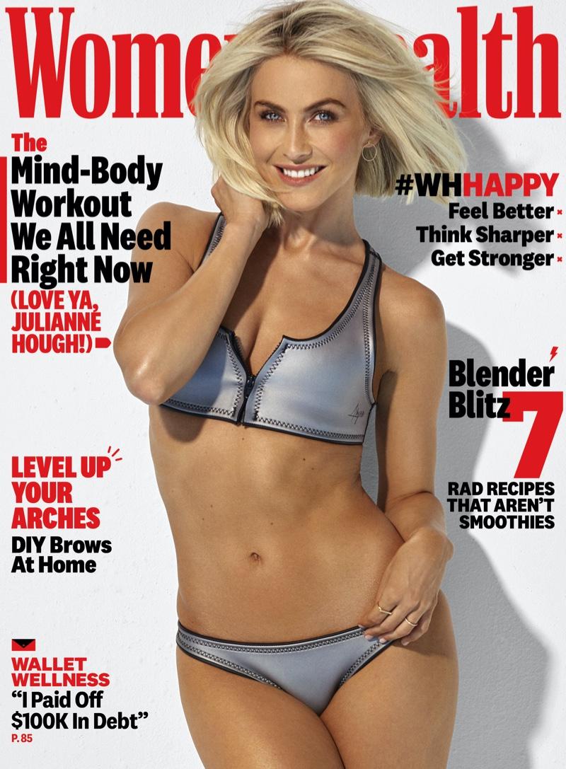 Julianne Hough on Women's Health June 2020 Cover