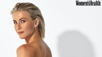 Julianne Hough shows off Lana Jewelry earrings.