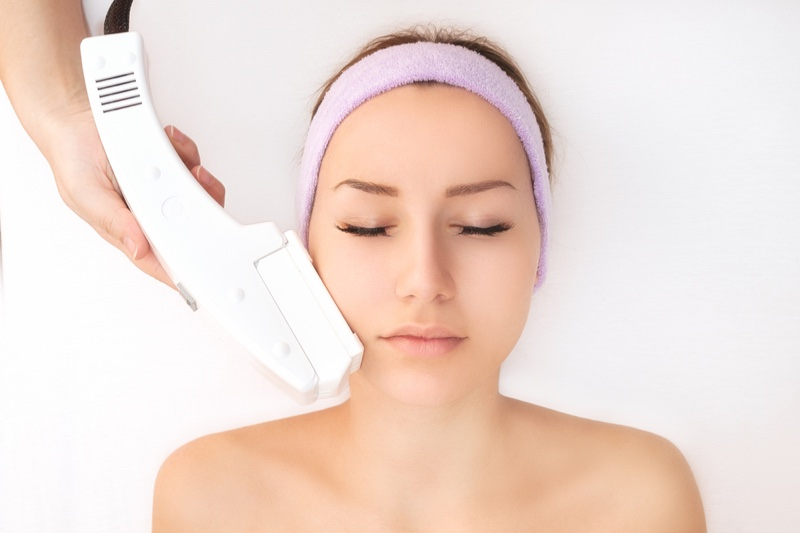 Laser Hair Removal Woman Face