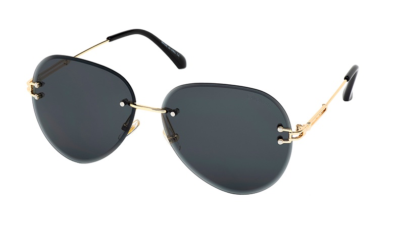 Layoner BlackJet Aviator Sunglasses