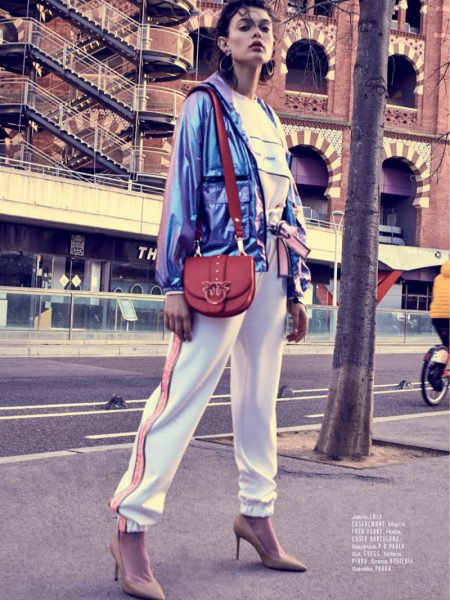 Liza Adamenko Wears Cool Girl Looks for ELLE Croatia