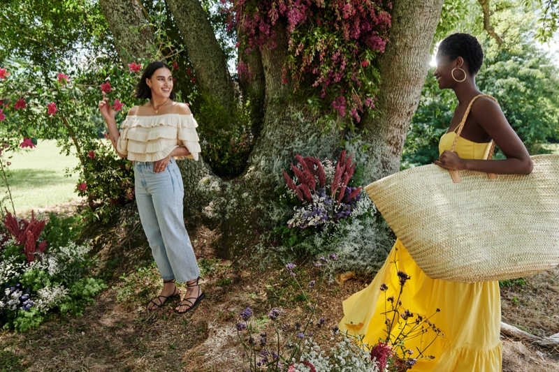 Mango sets Life in Bloom summer 2020 campaign in Argentina.