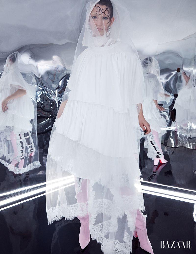 Mckenna Hellam Gets Surreal for Harper's Bazaar Turkey