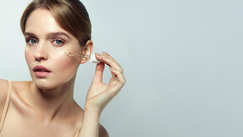 Model Beauty Face Serum Skin