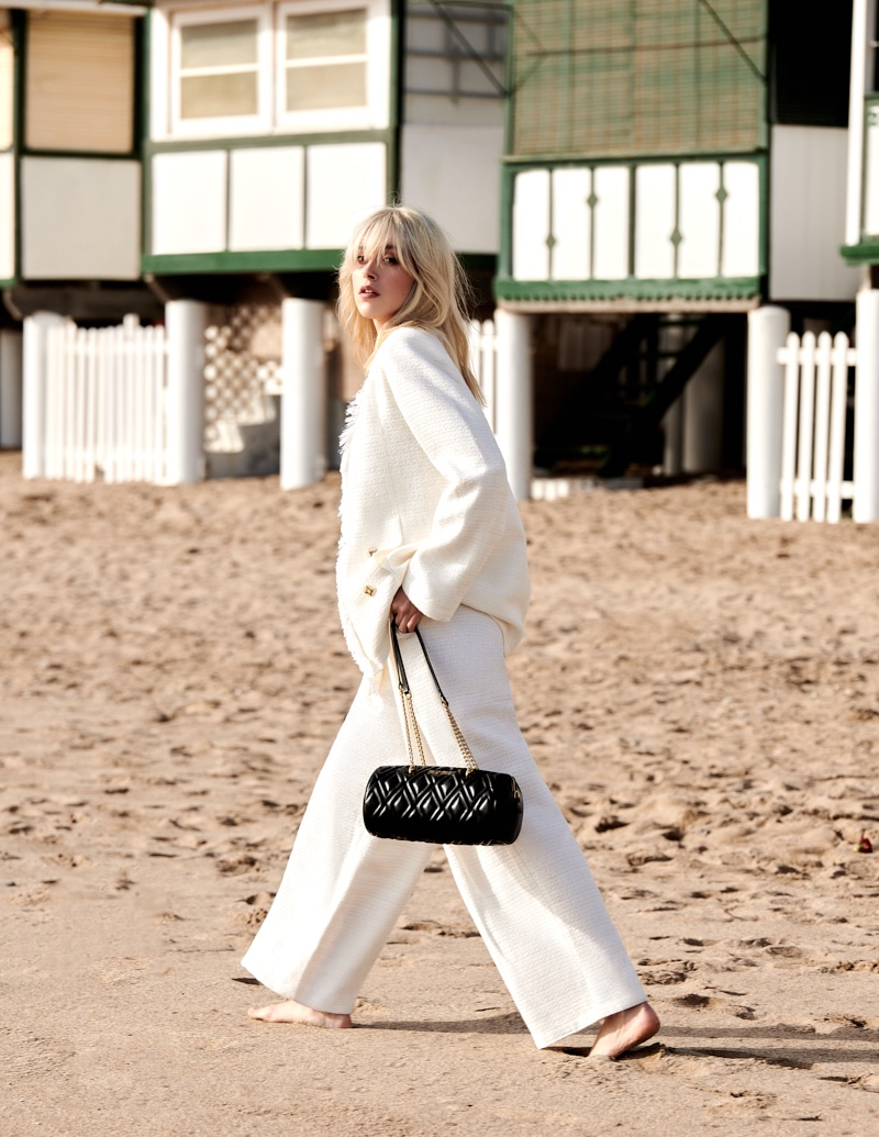 Nuria Oliu Models Dreamy Beach Styles for Marie Claire Malaysia