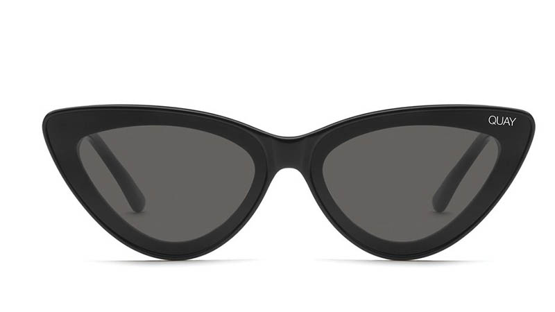 Quay x Lizzo Flex Sunglasses in BLK/SMK $55