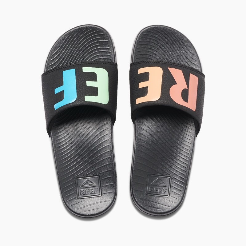 Reef One Slide in Rainbow $30