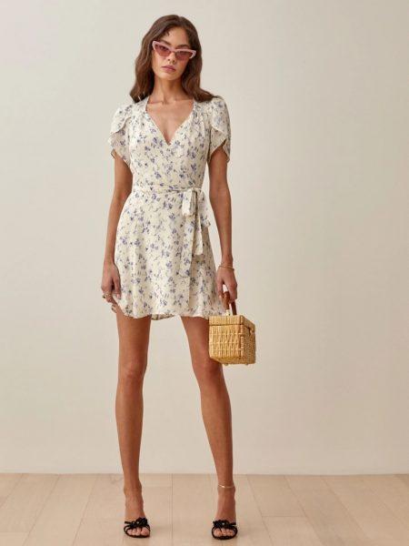 Reformation Ellwood Dress in Sinead $248