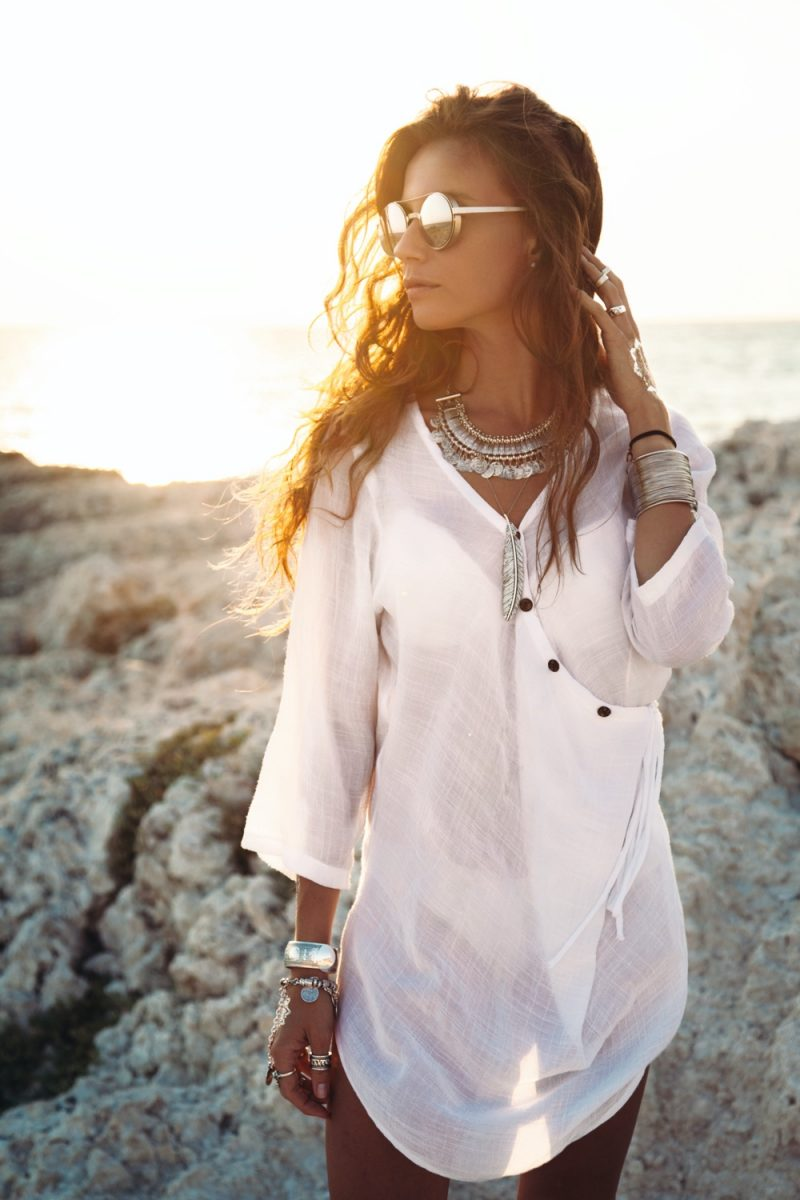 Silver Jewelry Beach