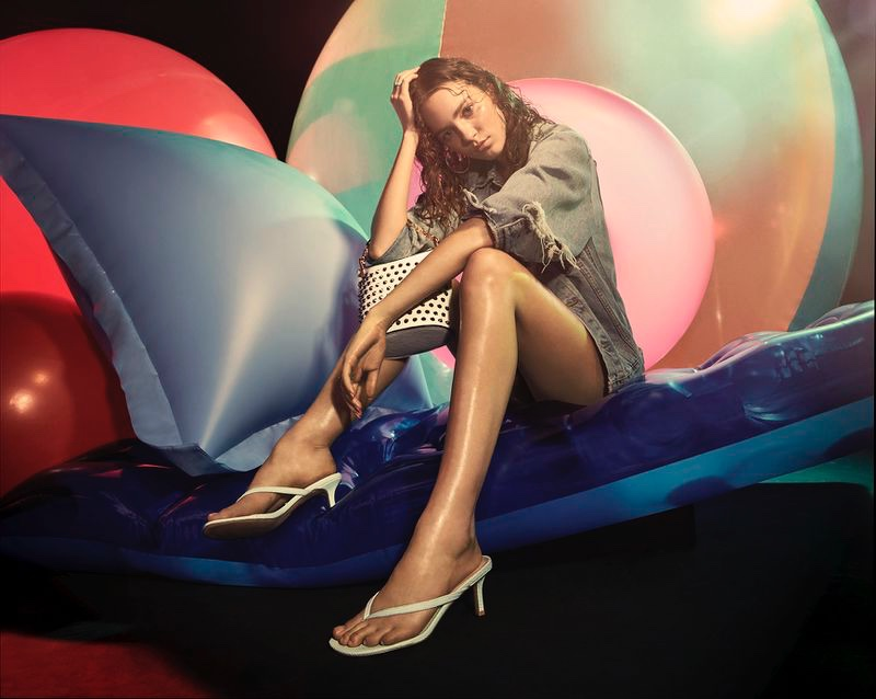 An image from Steve Madden's summer 2020 campaign.