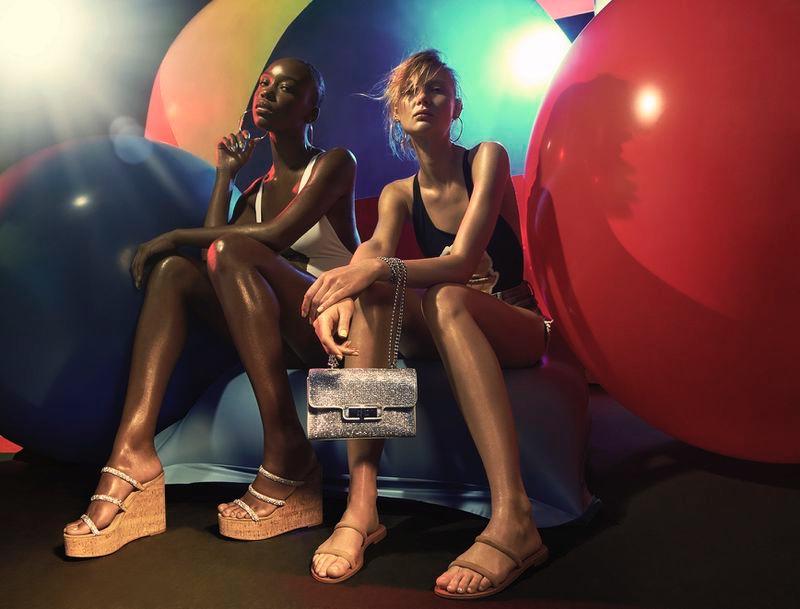 Steve Madden focuses on sandals for summer 2020 campaign.