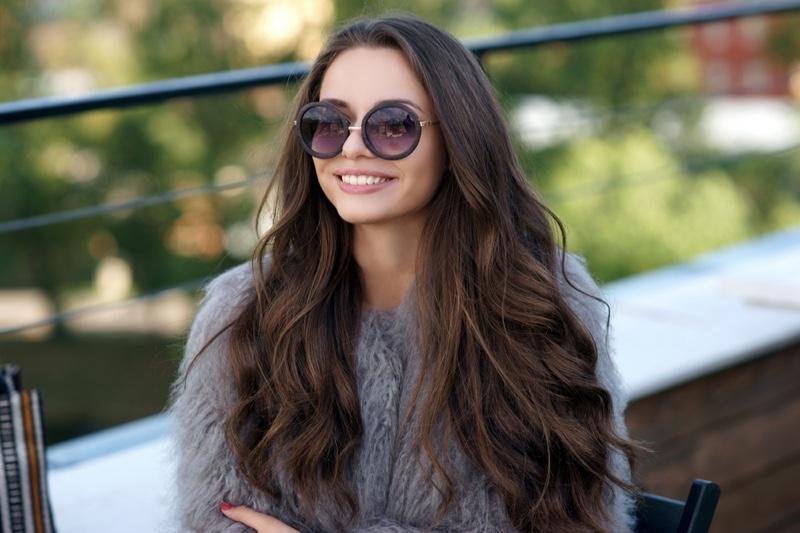Stylish Model Long Hair