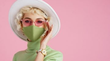 Discover fashionable face masks
