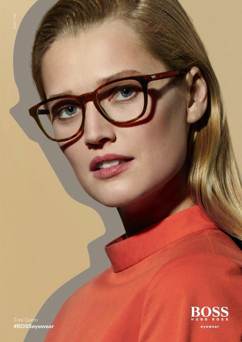 Toni Garrn stars in BOSS Eyewear spring-summer 2020 campaign.