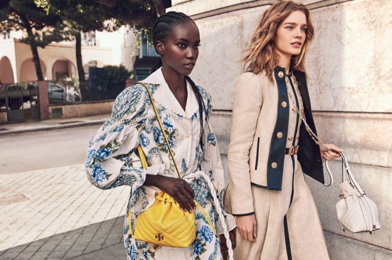 Tory Burch launches spring-summer 2020 campaign.