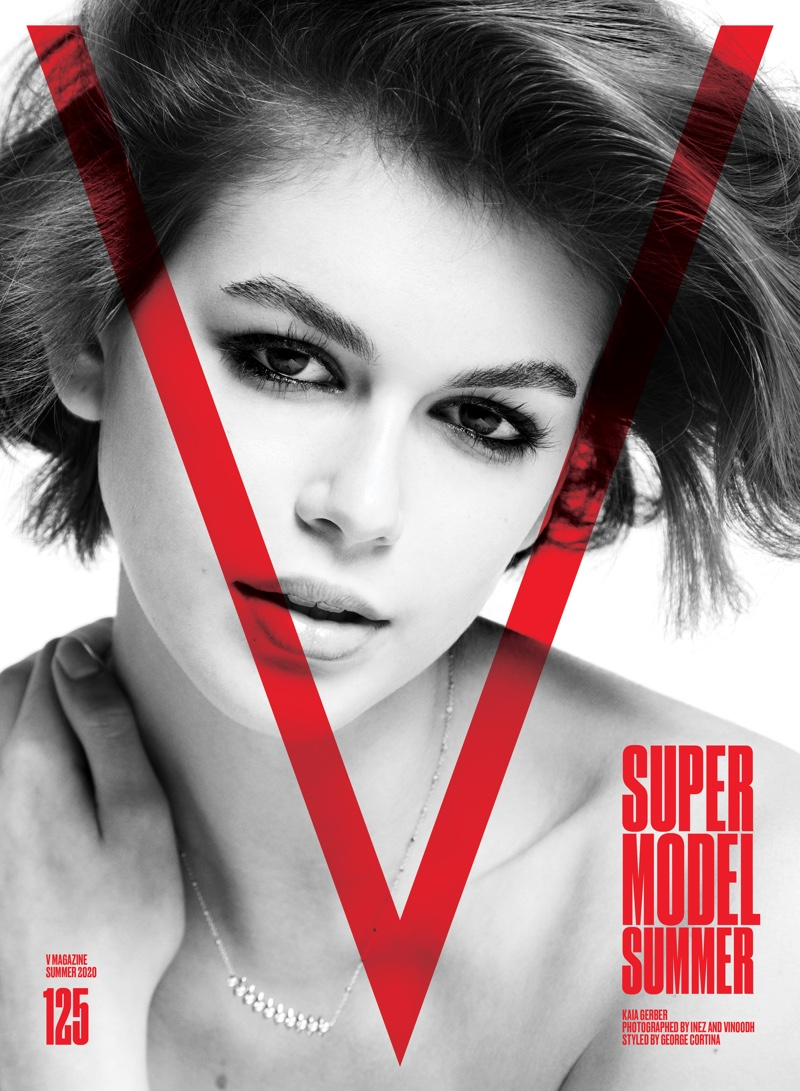 Kaia Gerber on V Magazine #125 Cover. Photo: Inez & Vinoodh