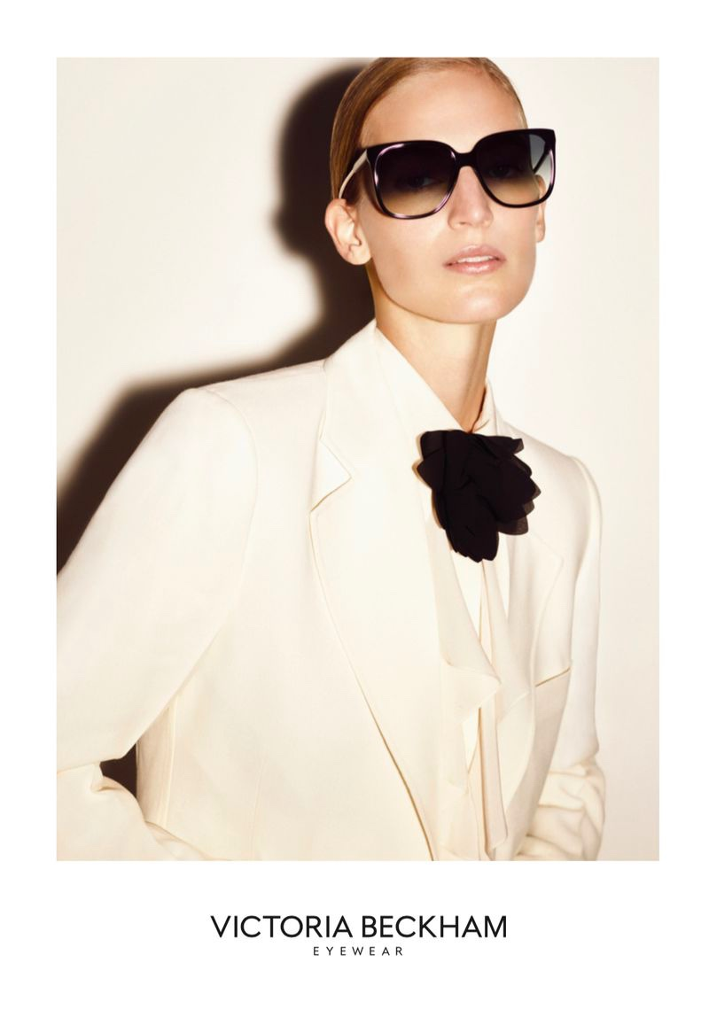 Vanessa Axente stars in Victoria Beckham Eyewear spring-summer 2020 campaign.