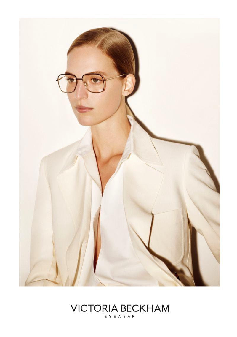 Victoria Beckham unveils spring-summer 2020 eyewear campaign.