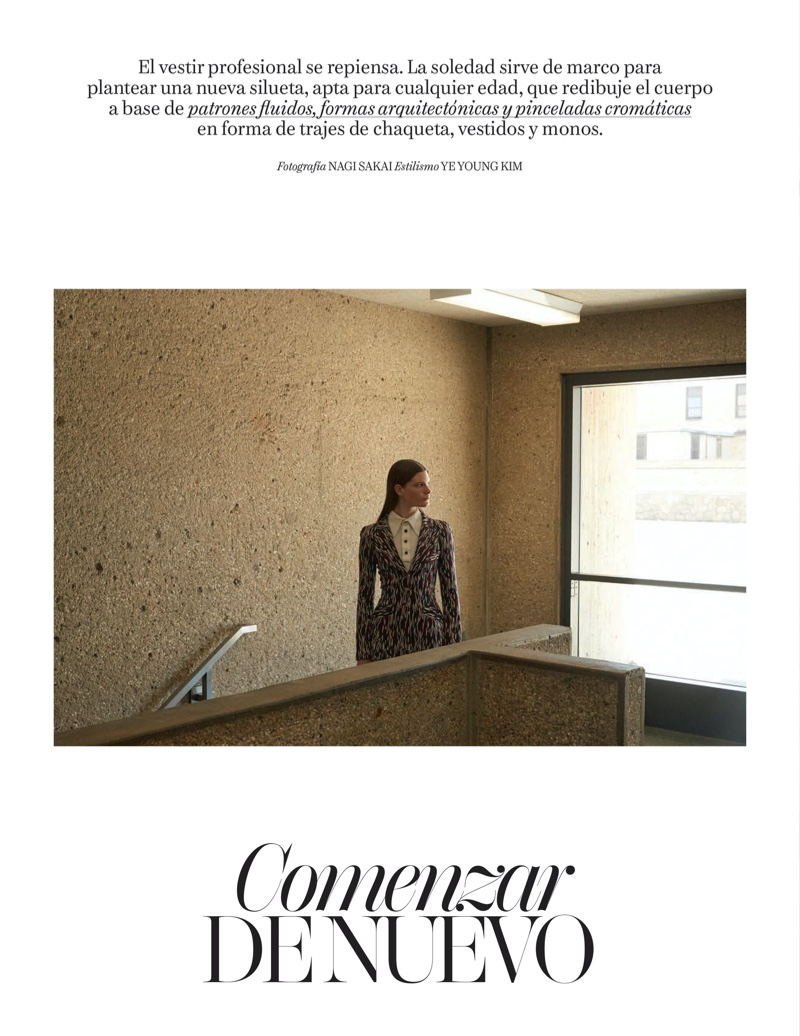 Carolina, Aamito & Slyke Get Professional in Vogue Business Spain