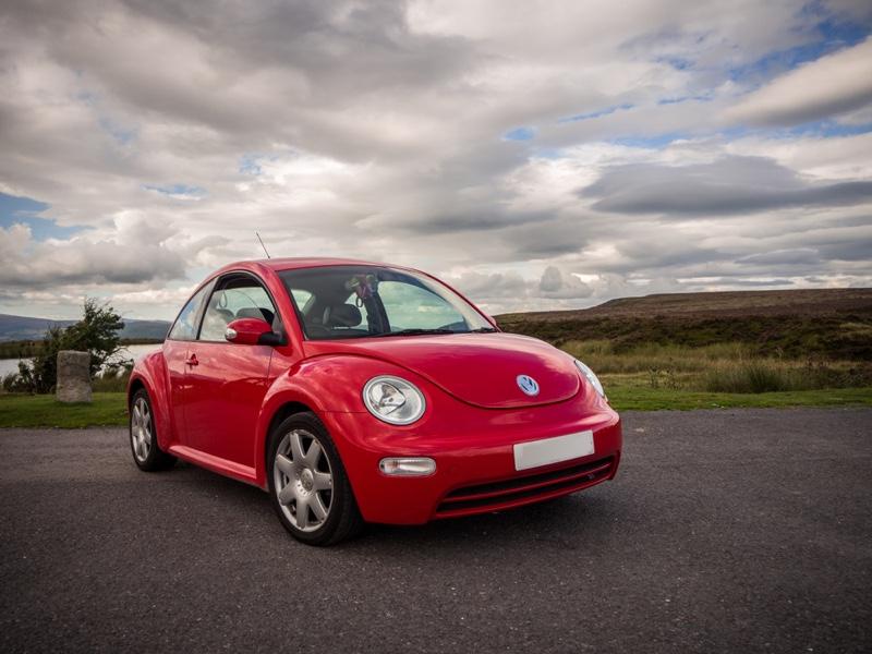 Volkswagen Beetle Car Red