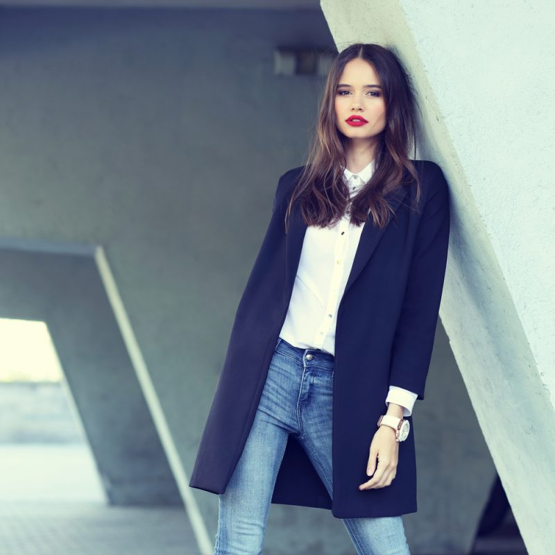 Woman Smart Chic Business Look