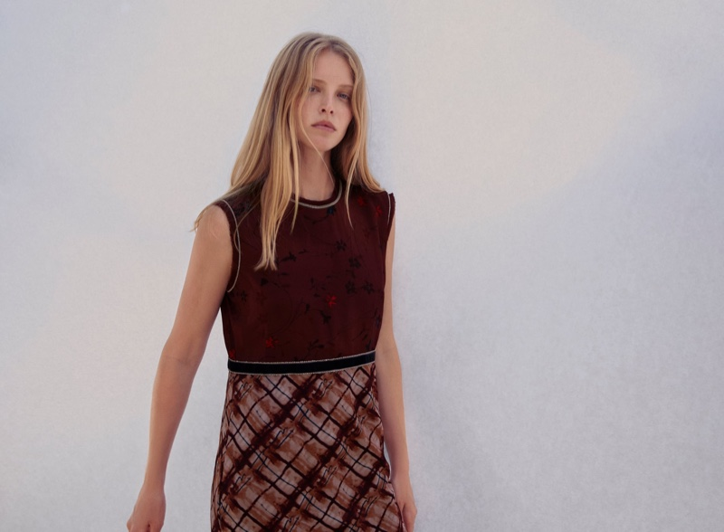 Zara Limited Edition Printed Dress.
