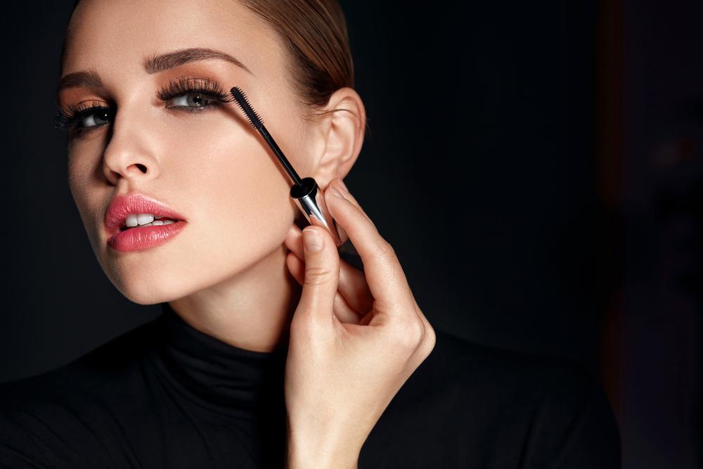 Beauty Makeup Look Model