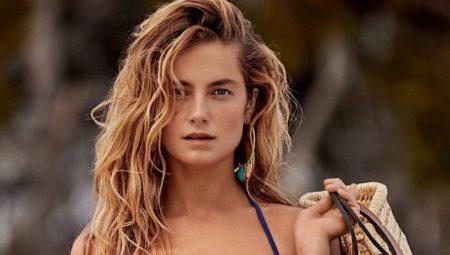 Bridget Malcolm Wears Vacation-Ready Swimwear for ELLE Italy