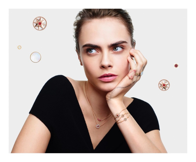 Dior unveils Lucky Charms 2020 jewelry campaign.