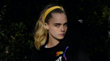 Cara Delevingne Poses Outdoors for PUMA Pride Campaign