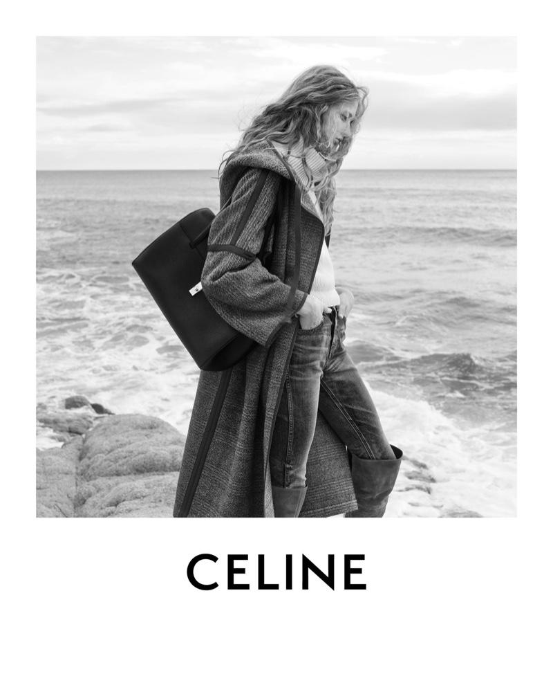 Celine taps Anna Francesca for fall-winter 2020 campaign.