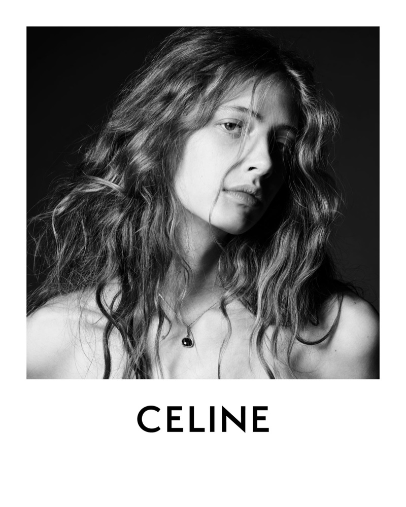 Anna Francesca is the face of Celine's fall-winter 2020 campaign.