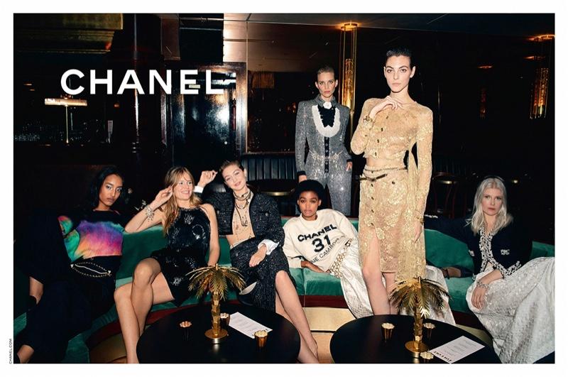 Chanel unveils pre-fall 2020 campaign.