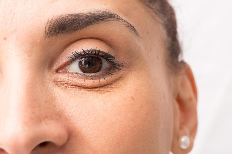 Closeup Woman Eyebags