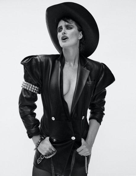 Daniella Midenge Rocks Versace for V Magazine