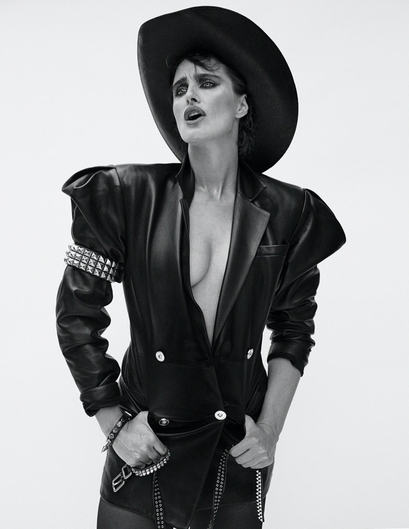 Daniella Midenge Rocks Versace for V Magazine