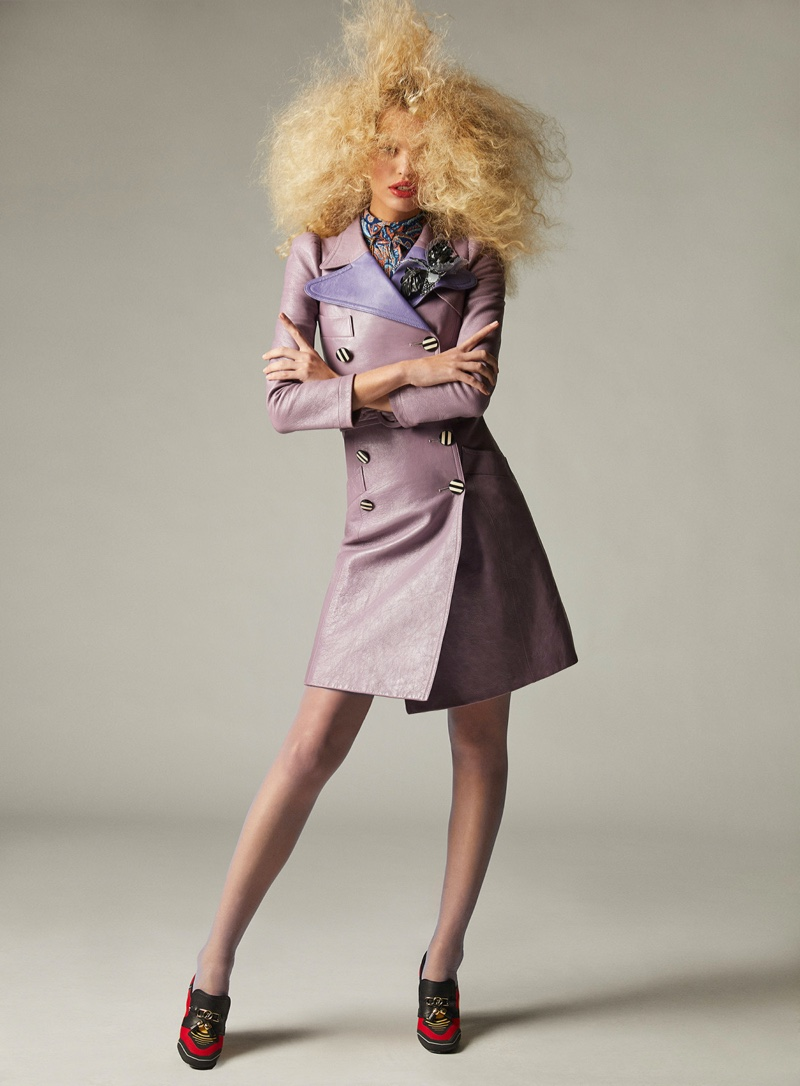 Daphne Groeneveld Strikes a Pose for Vogue Hong Kong