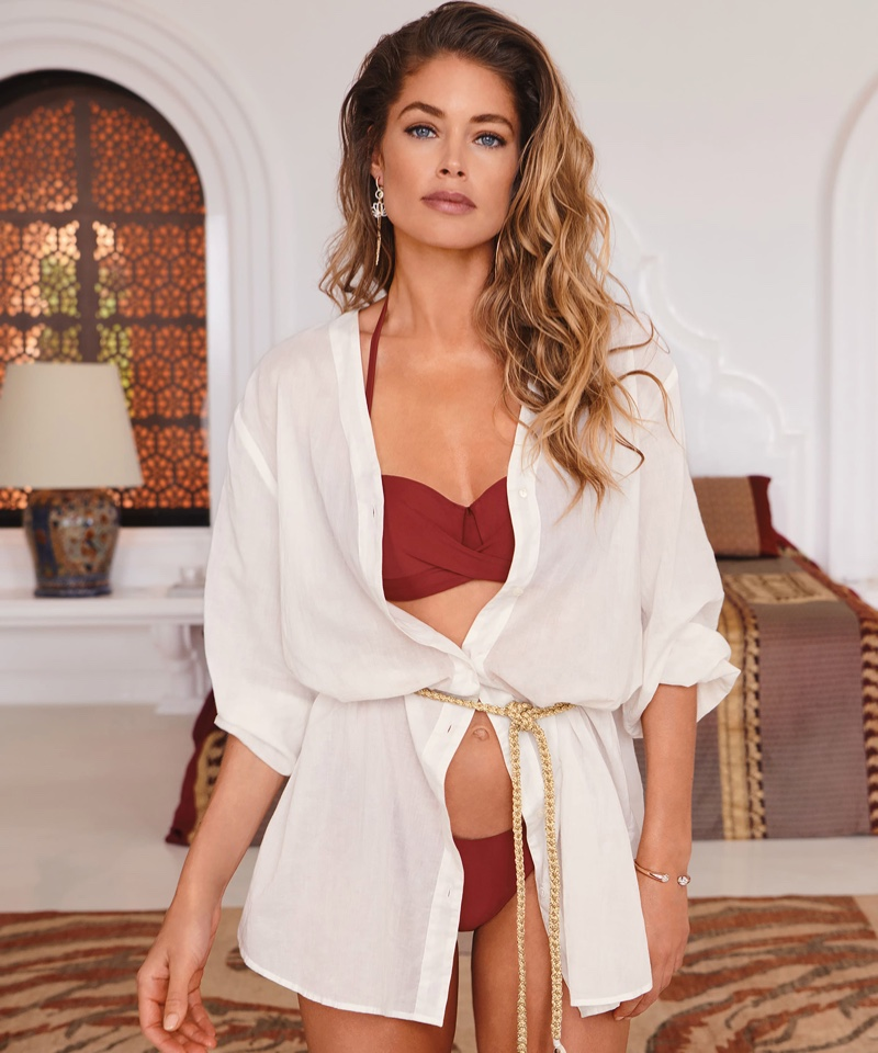 Doutzen Kroes stars in Hunkemoller Doutzen Stories Swimwear 2020 campaign.