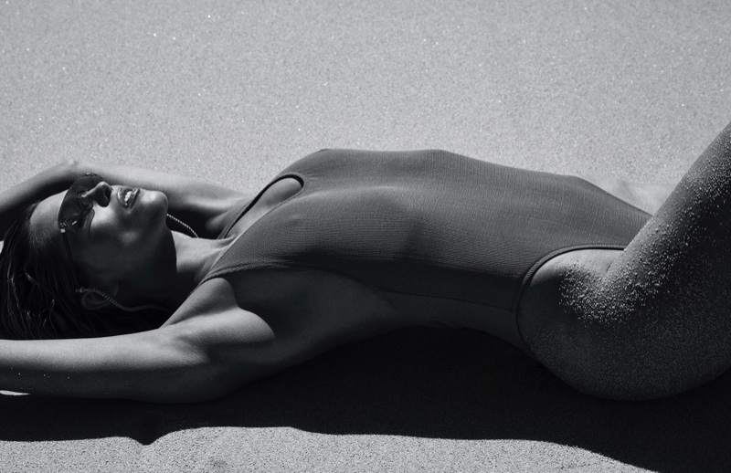 Hana Jirickova Makes a Splash in Hot Swimwear for Vogue Spain