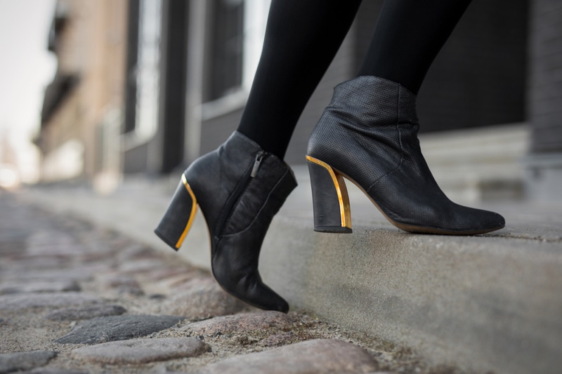 Heeled Woman Boots Fashion